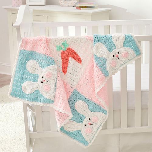 Luv My Bunny Blanket - Free Pattern