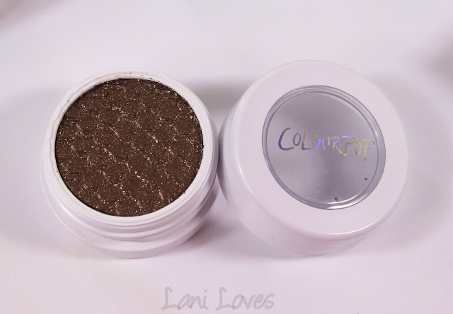 ColourPop Super Shock Shadow - Far Side Swatches & Review