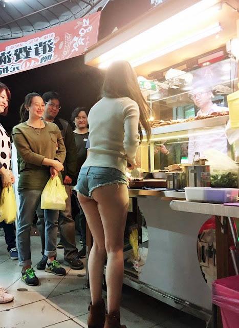 台中最狂滷味妹~小桃子