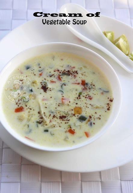 creamy vegetable soup recipes cream soup recipes healthy vegetable soup recipe simple vegetable soup ayeshas kitchen recipes healthy recipes