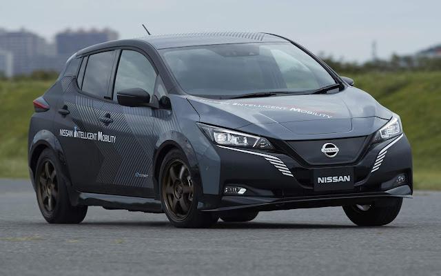 Tração integral elétrica da Nissan se chama e-4ORCE