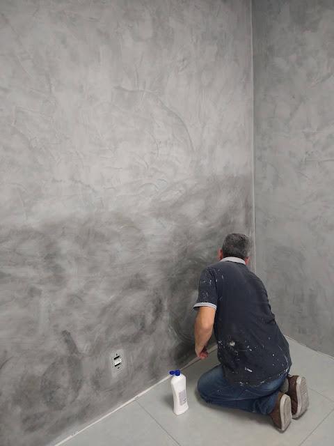 Aplicação de cimento queimado São Caetano