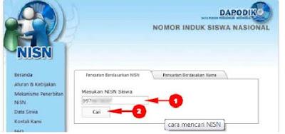Cara Gampang menjalankan Pencarian NISN berdasarkan nama siswa secara online terbaru Cara Gampang menjalankan Pencarian NISN berdasarkan nama siswa secara online terbaru