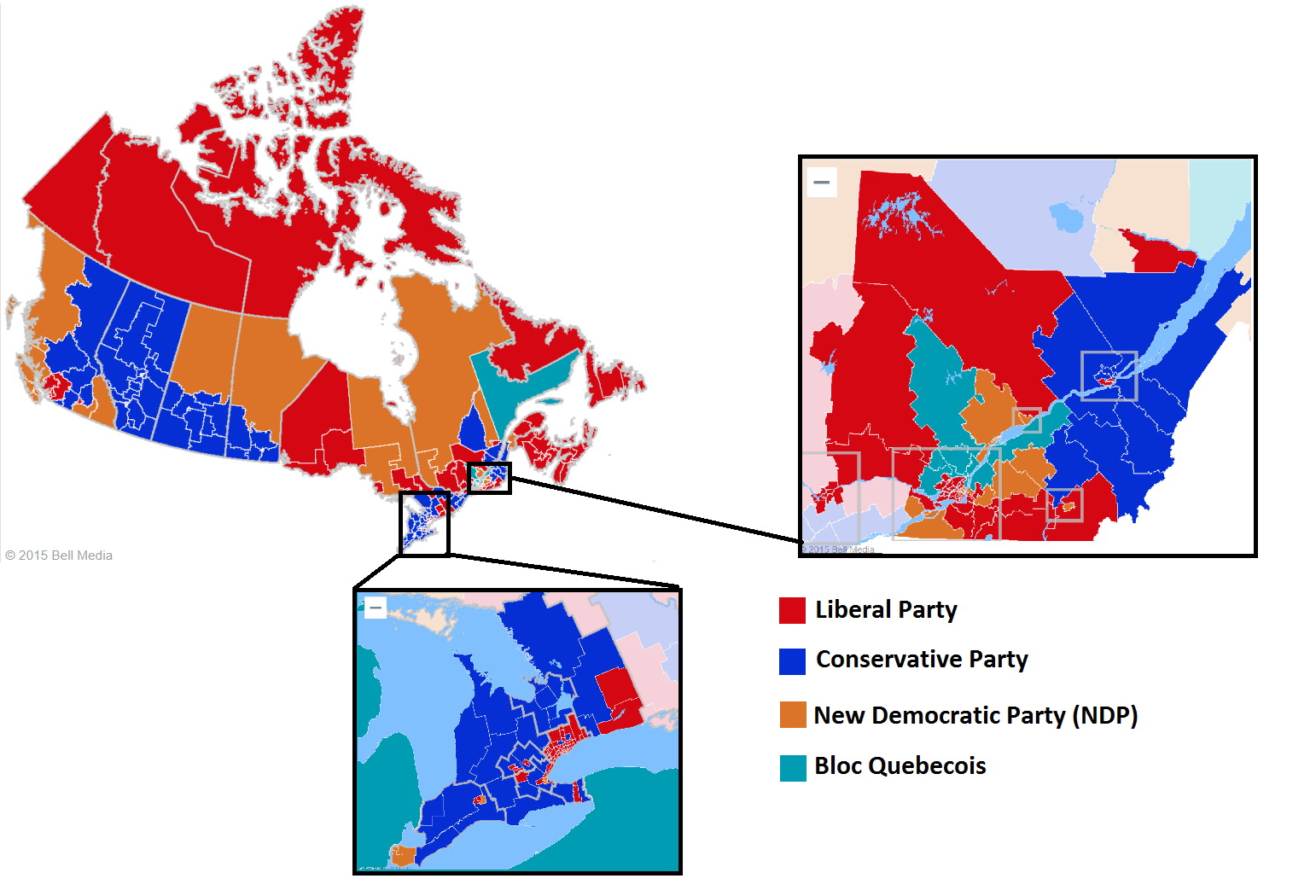 Results of Canadian general election (2015)