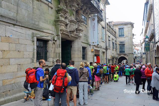 Casa del Dean en la Rua do Vilar, Santiago de Compostela