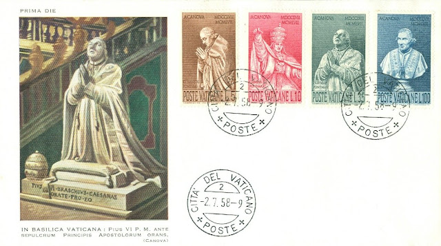 Vatican City  Birth of Antonio Canova on FDC