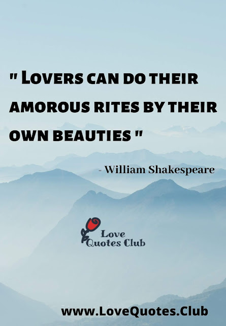 love quotes from shakespeare