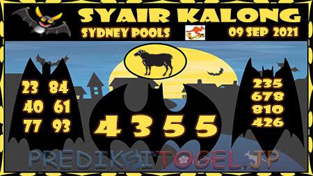 Prediksi Togel Kalong Sidney Kamis 09 September 2021