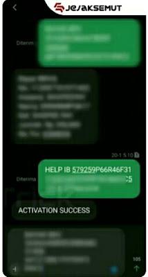 kirim format sms