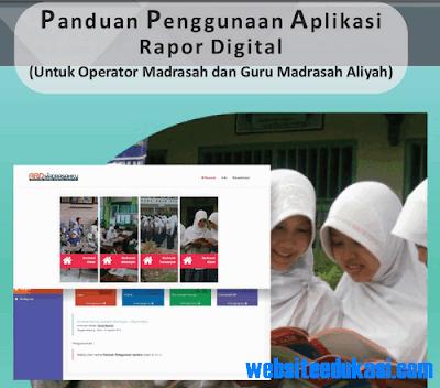 Panduan Aplikasi Rapor Digital Madrasah Tahun 2018