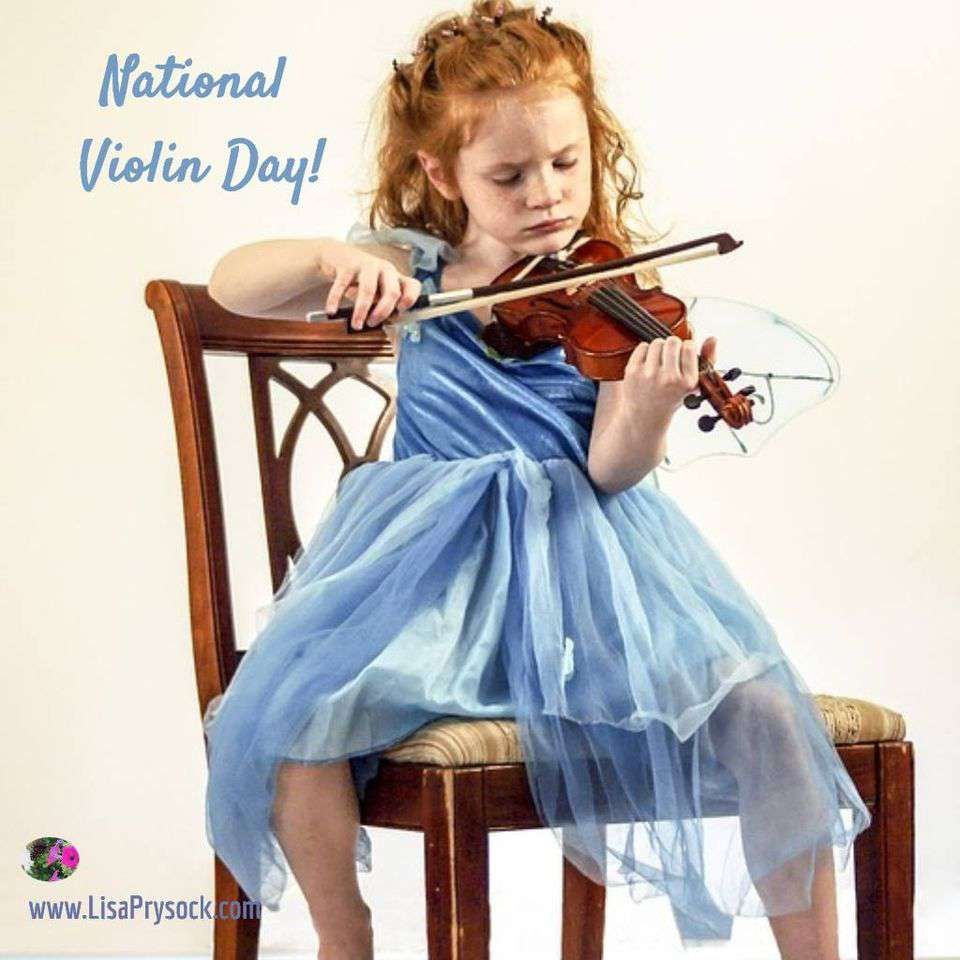National Violin Day Wishes Awesome Picture