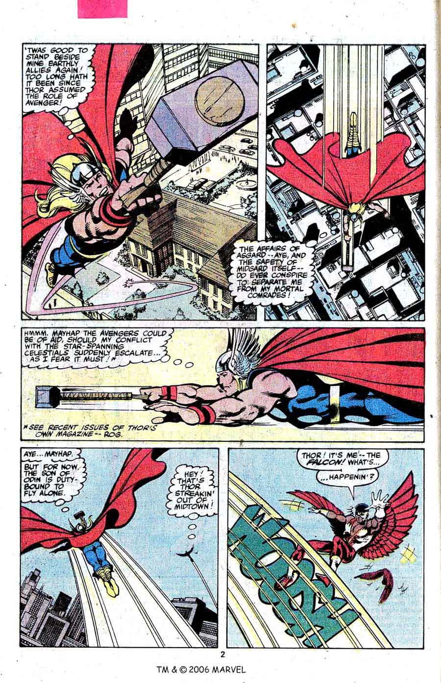 Avengers #189 marvel 1970s bronze age comic book page art by John Byrne