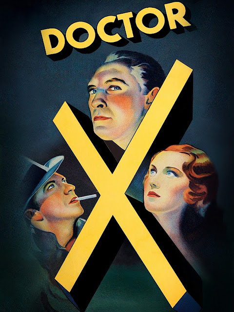 Movie poster of Doctor X