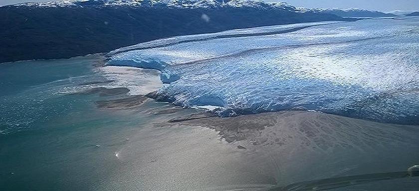 Pio XI or Bruggen Glacier, Chile.