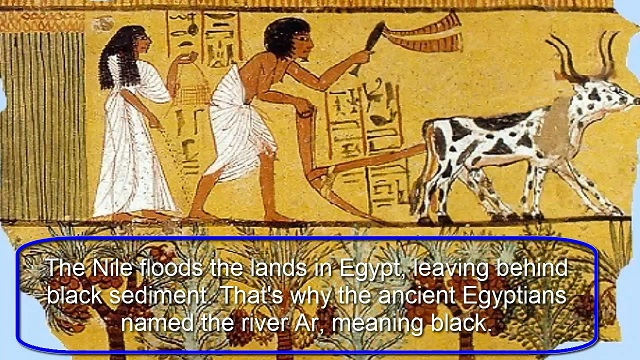 Nile importance in Ancient Egypt