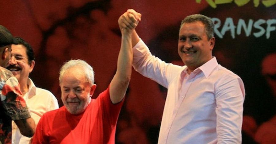 """Após ataques por entrevista à Veja, Rui Costa rebate: """"Lula livre, sim"""""""