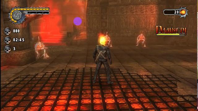 تحميل لعبة Ghost rider على محاكي ppsspp