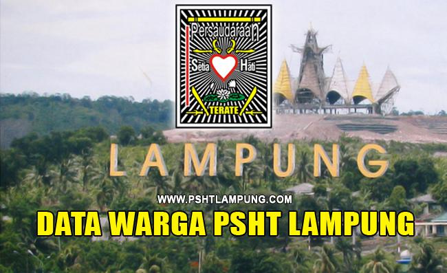 DATA WARGA PSHT LAMPUNG