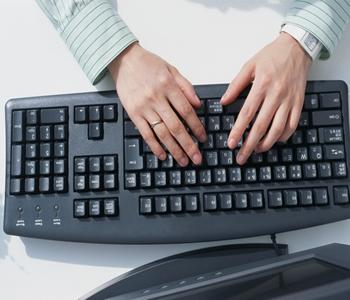 aprender a digitar textos no computador