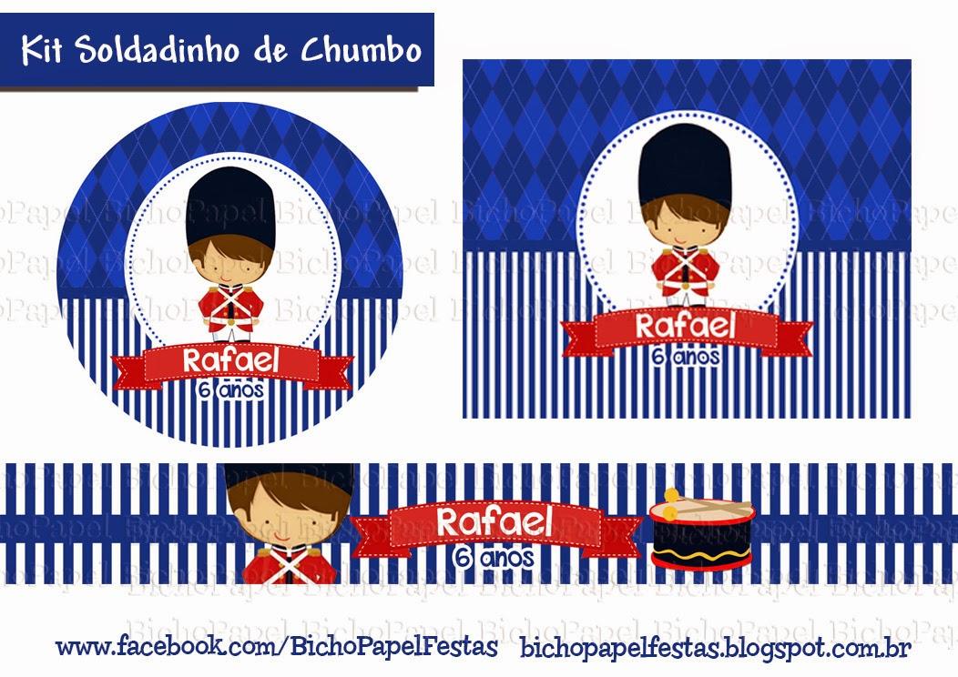 Kit Festa Soldadinho de Chumbo quebra nozes