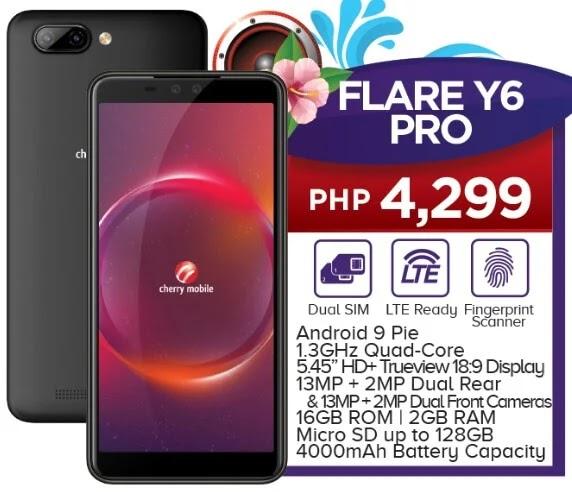 Cherry Mobile Flare Y6 Pro Specs, Price