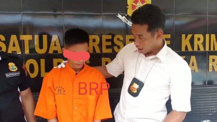 Pemuda SMK Kesehatan Nekat Mencuri Motor Belajar Dari Youtube