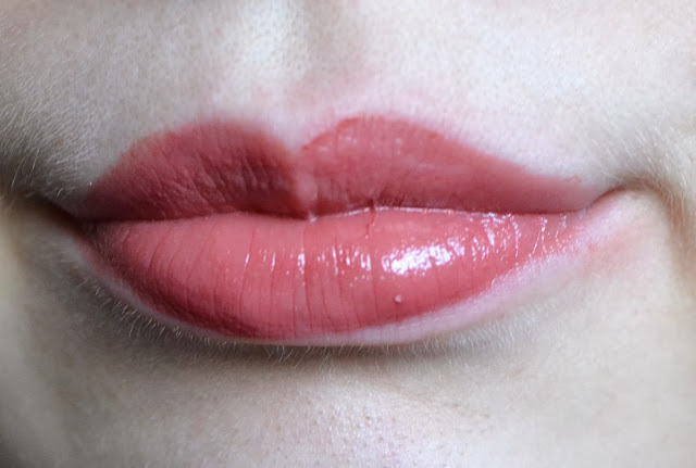 Revlon Lip Butter in Pink Truffle Lip Swatch