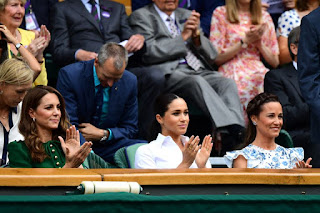 Kate, Meghan and Pippa at Ladies Final