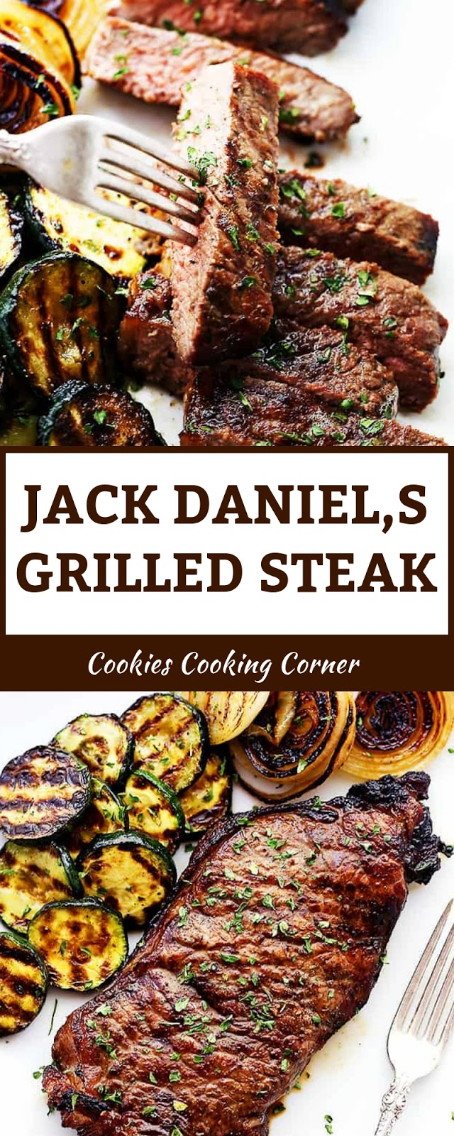 JACK DANIEL,S GRILLED STEAK