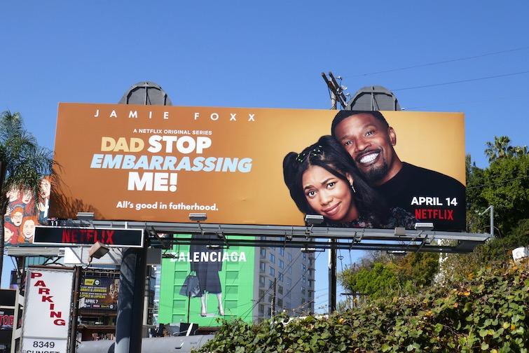 Dad Stop Embarrassing Me series premiere billboard