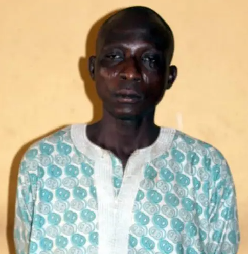 45yr old man arrested for raping his 13yr old daughter in Ogun state