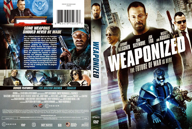 WEAPONiZED DVD Cover