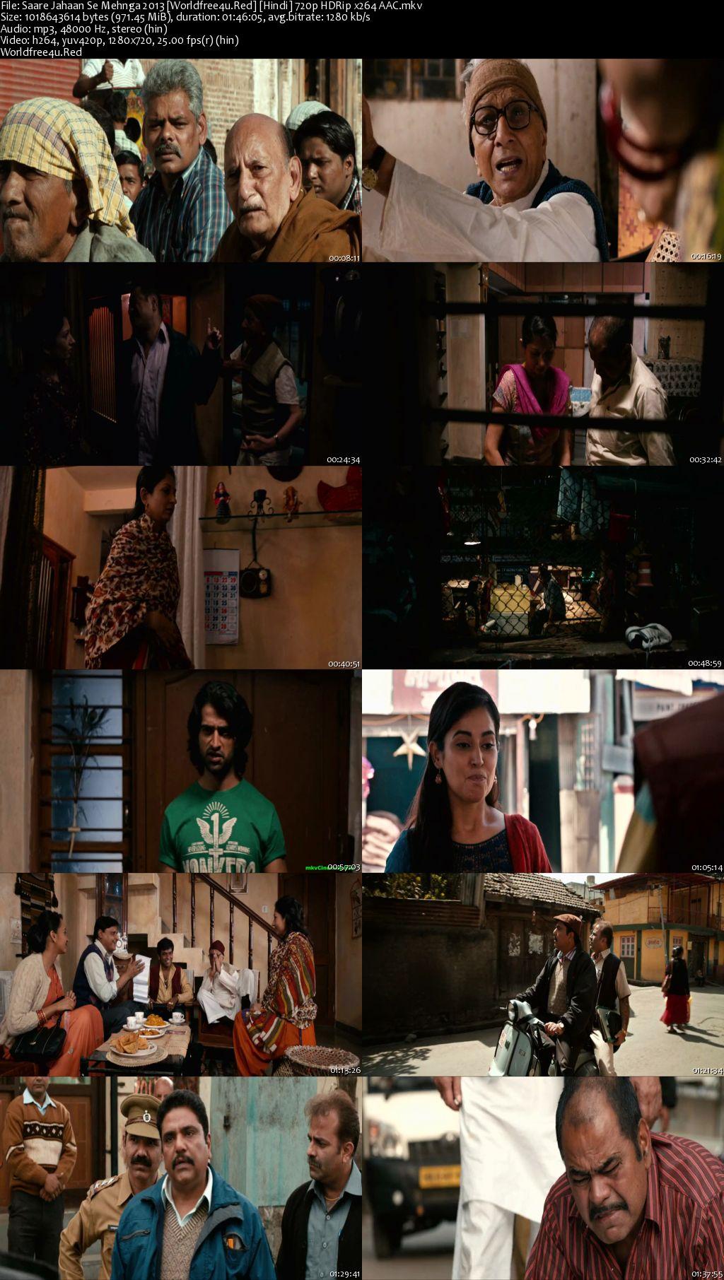 Saare Jahaan Se Mehnga 2013 Hindi HDRip 720p