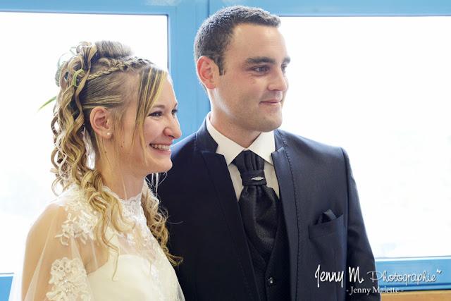 portrait volée des mariés reportage vin d'honneur mariage