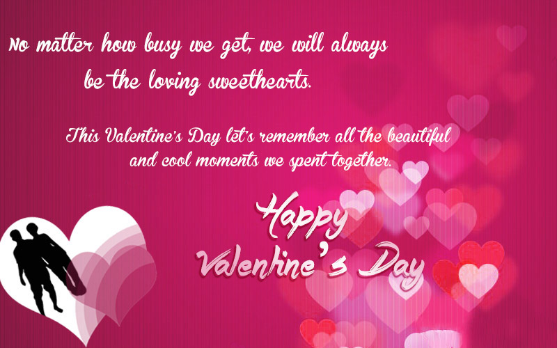 Valentines Day Card Messages For Her Happy valentines day sms