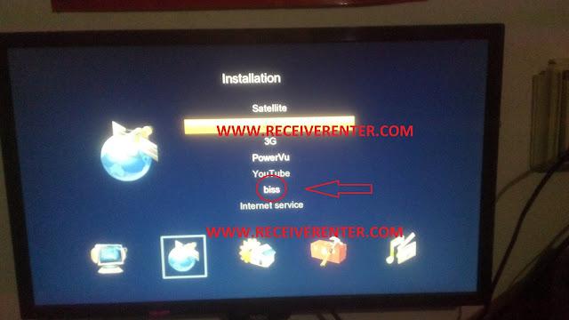 GALAXY AC DC HD RECEIVER BISS KEY OPTION