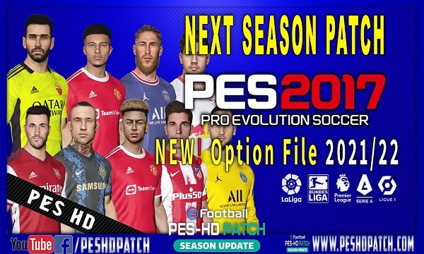 PES 2017   Next Season Patch 2021   Option File 2022