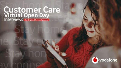 Vodafone Careers | Customer Care Virtual