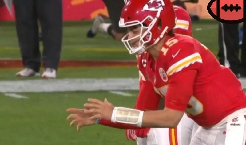 Patrick Mahomes Kansas City Chiefs Super Bowl LV