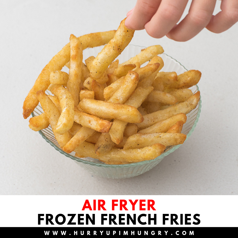 Frozen french fries in air fryer