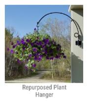 Repurposed Plant Hanger