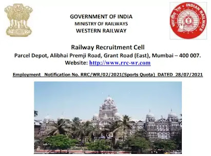 21 Group C Posts for Sportsperson In Western Railway