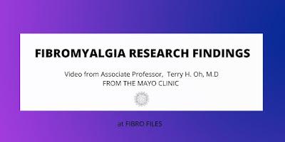 Fibromyalgia research Mayo Clinic