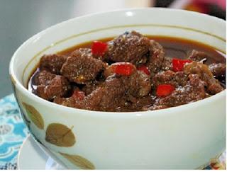 Resep Masakan Praktis Rendang Sosis Kacang Merah