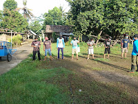 Penyemprotan Disinfektan Di Kampung KB Gumulan, Semangatnya Pemuda dalam Berupaya Menjaga dan Melindungi Keluarga