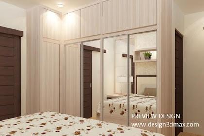 Jasa desain kamar tidur utama murah tanpa uang muka