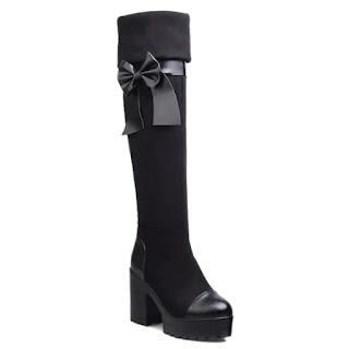 Moda, dicas de moda, botas, botas over the knee, como usar botas, como usar botas over the knee, dicas de lojas, acessórios de moda, moda feminina, moda 2018, dresslily, lista de desejos dresslily, Wishlist,