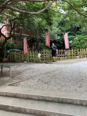 新宿区荒木町,鞭の池の風景