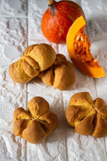 La ricetta dei Panini dolci alla zucca
