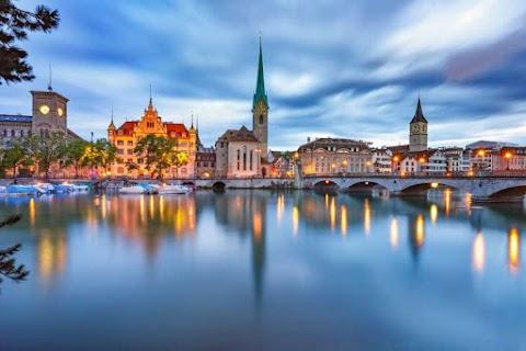 Zurich is a wonderful city in Switzerland